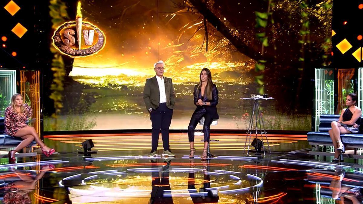 Así reaccionaron Rocío Flores y Gloria Camila al ver a Sofía Suescun como presentadora de 'Supervivientes'