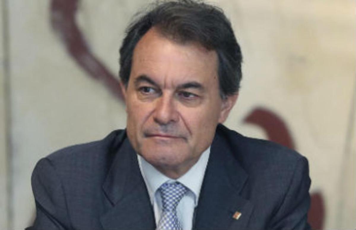 Artur Mas, en la reunión semanal del Govern de este martes.