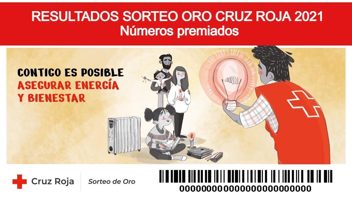 Sorteo de Oro de Cruz Roja 2021: Comprobar número