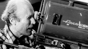 El director de cine, durante elrodaje de una de sus películas.