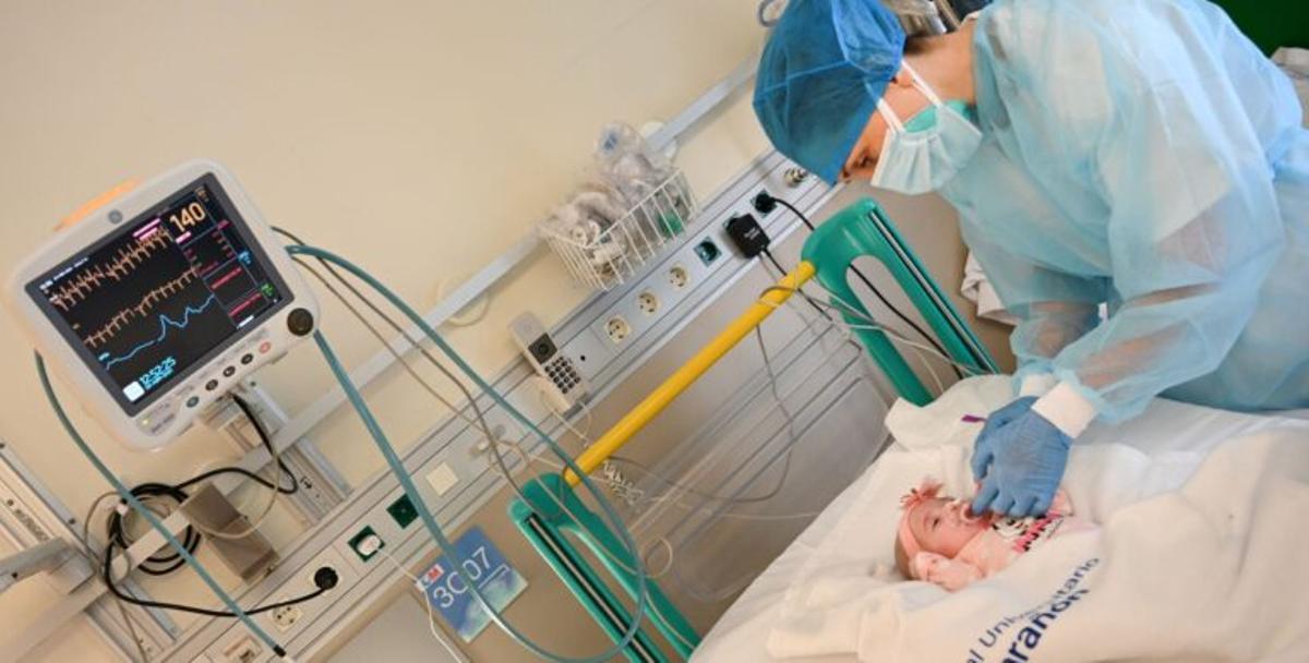 Naiara, la más chiquitina en recibir un trasplante de corazón único en el mundo