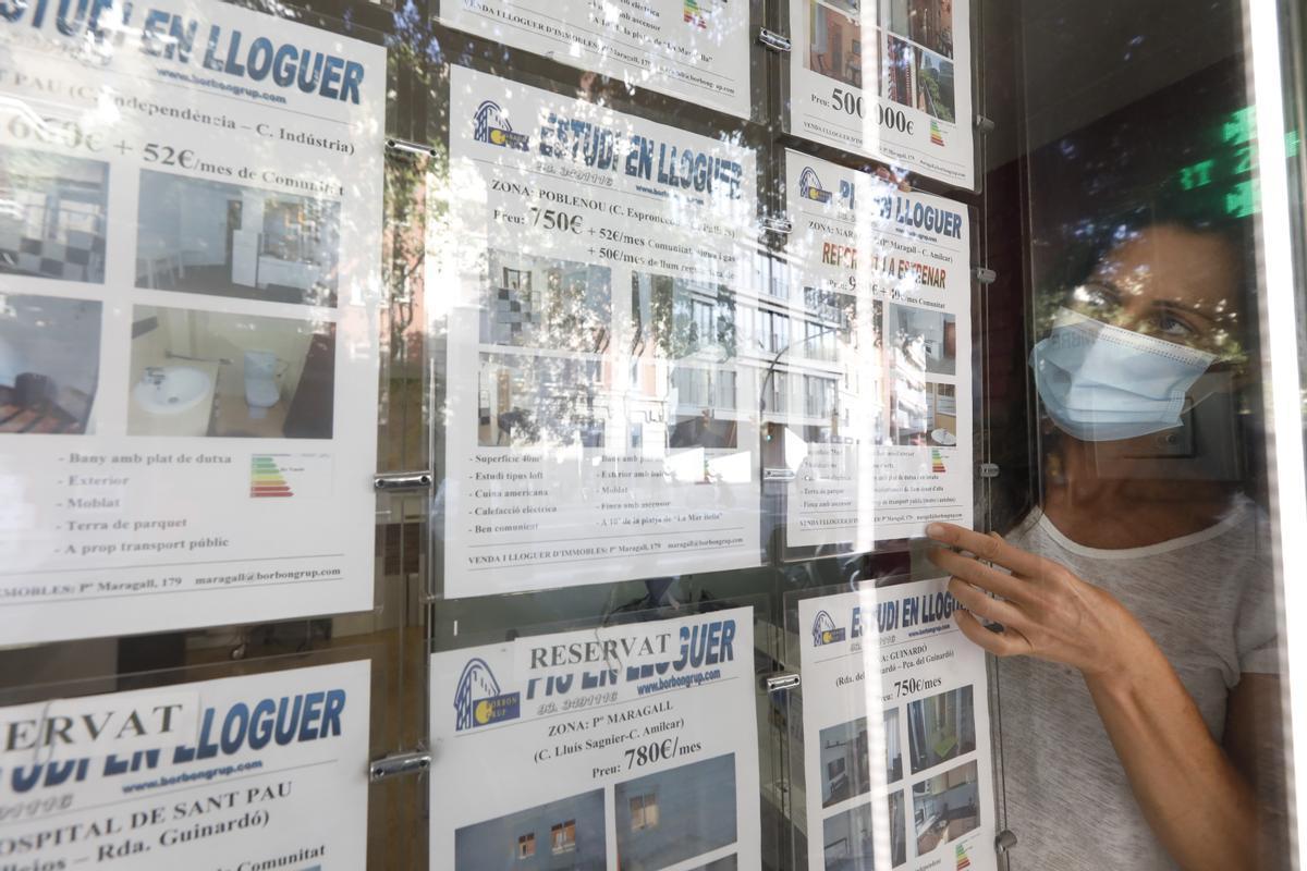 El Govern multarà ja els propietaris amb lloguers superiors a l'índex de referència