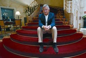 El historiador británico Antony Beevor, ayer en Madrid.