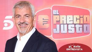 Carlos Sobera, presentador de la nueva etapa de 'El precio justo'