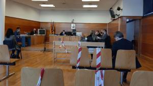 Imagen del juicio celebrado contra las dos sanitarias en Vinaròs a principios de este mes.