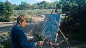 Gran parte del filme se rodó en plena naturaleza.