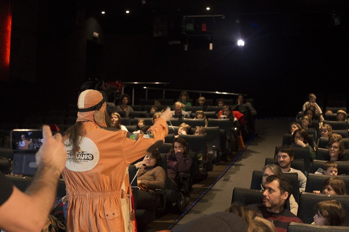 Los niños pueden participar en un animado coloquio sobre el filme.