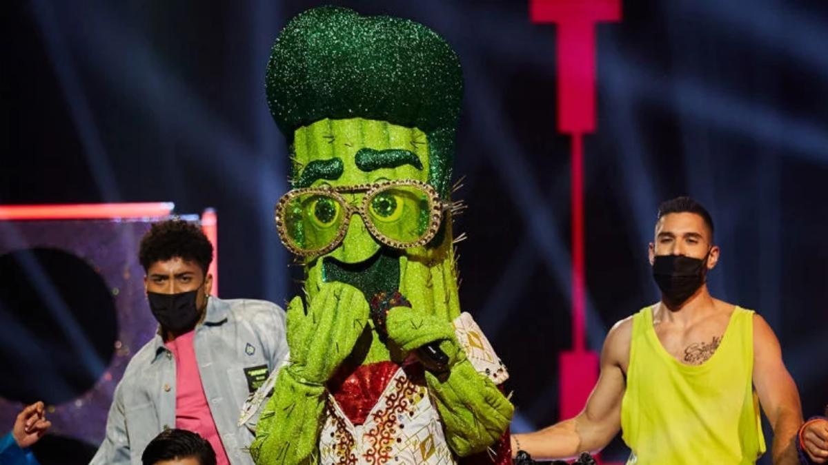 Cactus en su primera actuación en 'Mask Singer 2'