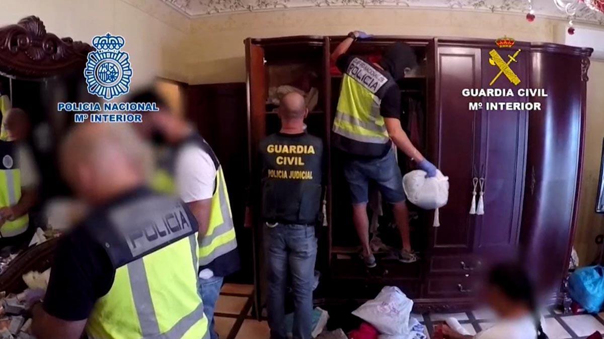 Cae una banda que traficaba con heroína entre Málaga y Sevilla.