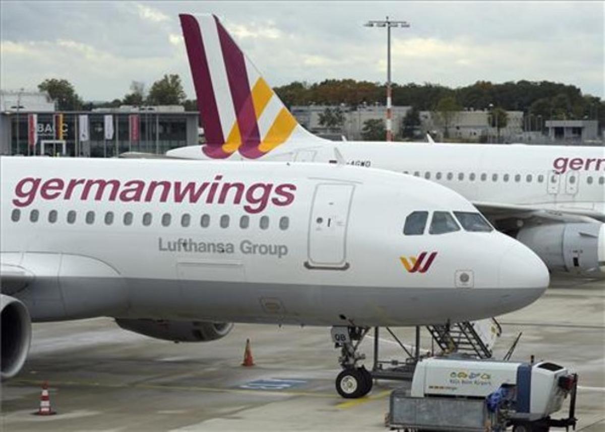 Un avión de Germanwings.