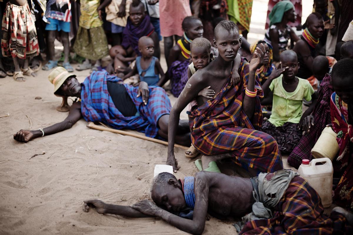 Desplazados del Cuerno de África