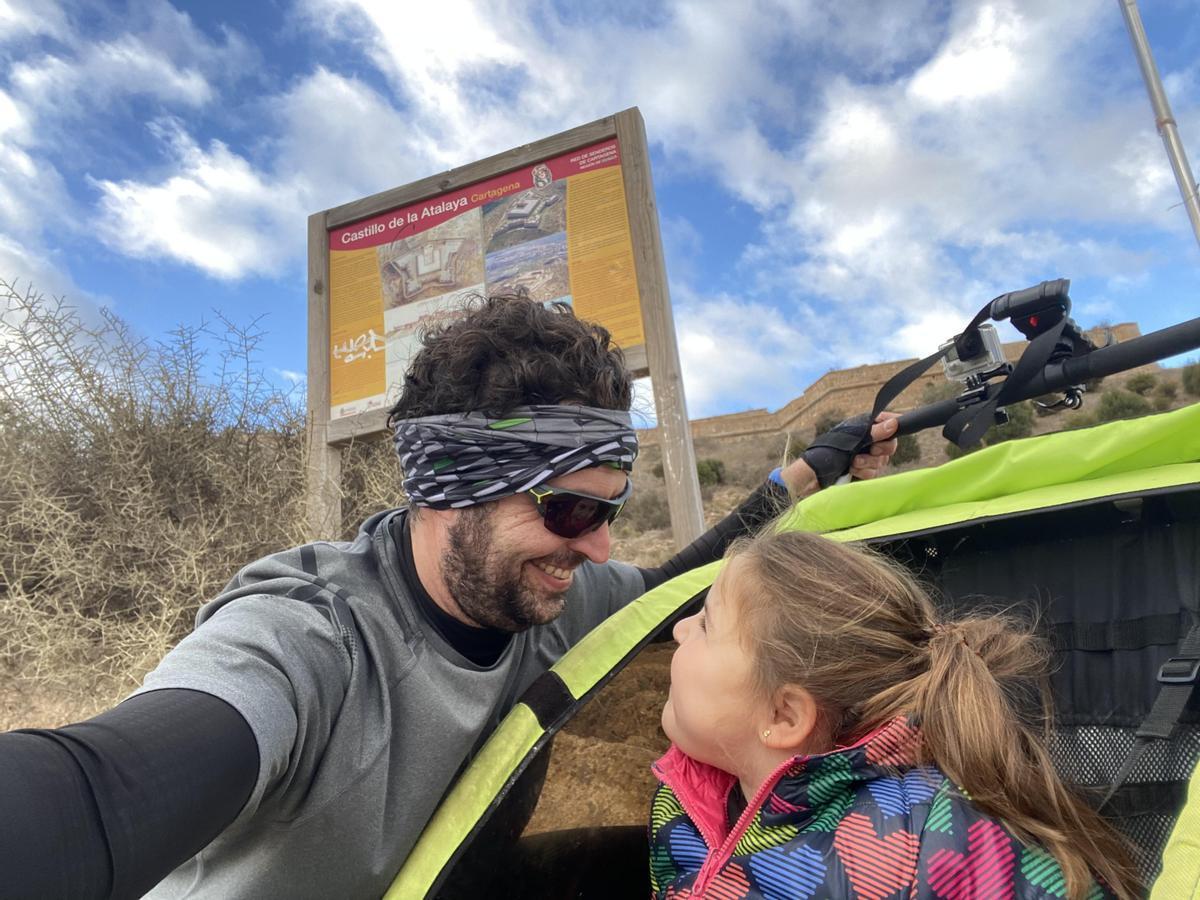 Joaquín Susmozas, pediatra y padre de Julia, una niña que sufre el síndrome de Beckwith-Wiedemann