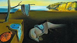 'La persistencia de la memoria' o 'Los relojes blandos', de Salvador Dalí (1931).