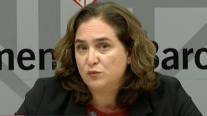 La alcaldesa de Barcelona Ada Colau.