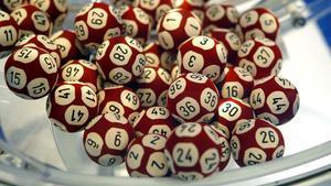 Bolas del Euromillones, en una imagen de archivo.
