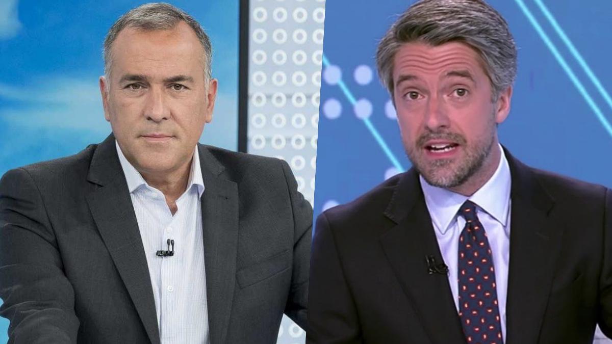 Xabier Fortés y Carlos Franganillo