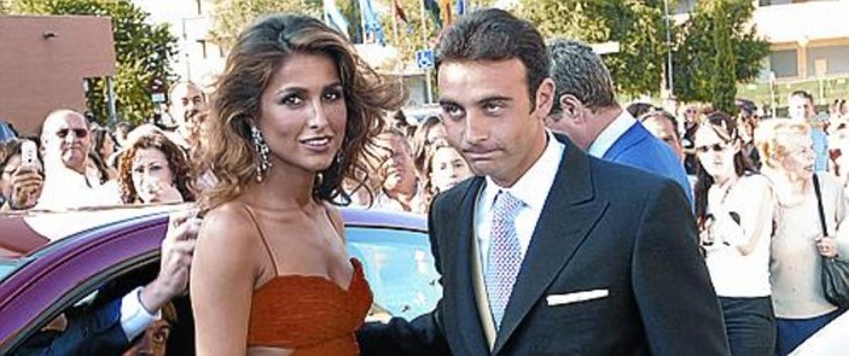 Paloma Cuevas i Enrique Ponce.