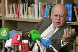 El 'expresident' Jordi Pujol, durante una rueda de prensa, el pasado 2 de junio.
