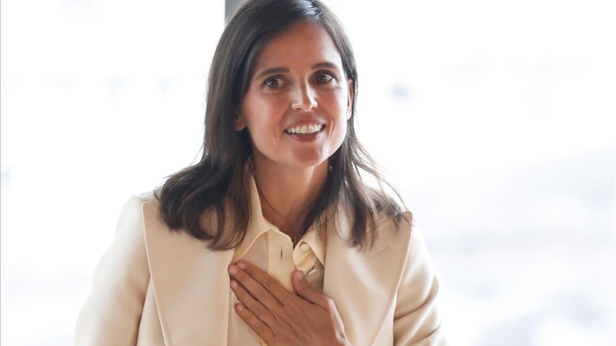 Elena Anaya, en la presentación de 'Rifkin's Festival' en San Sebastián