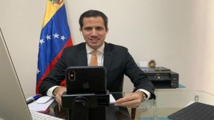 Juan Guaidó, líder opositor en Venezuela.