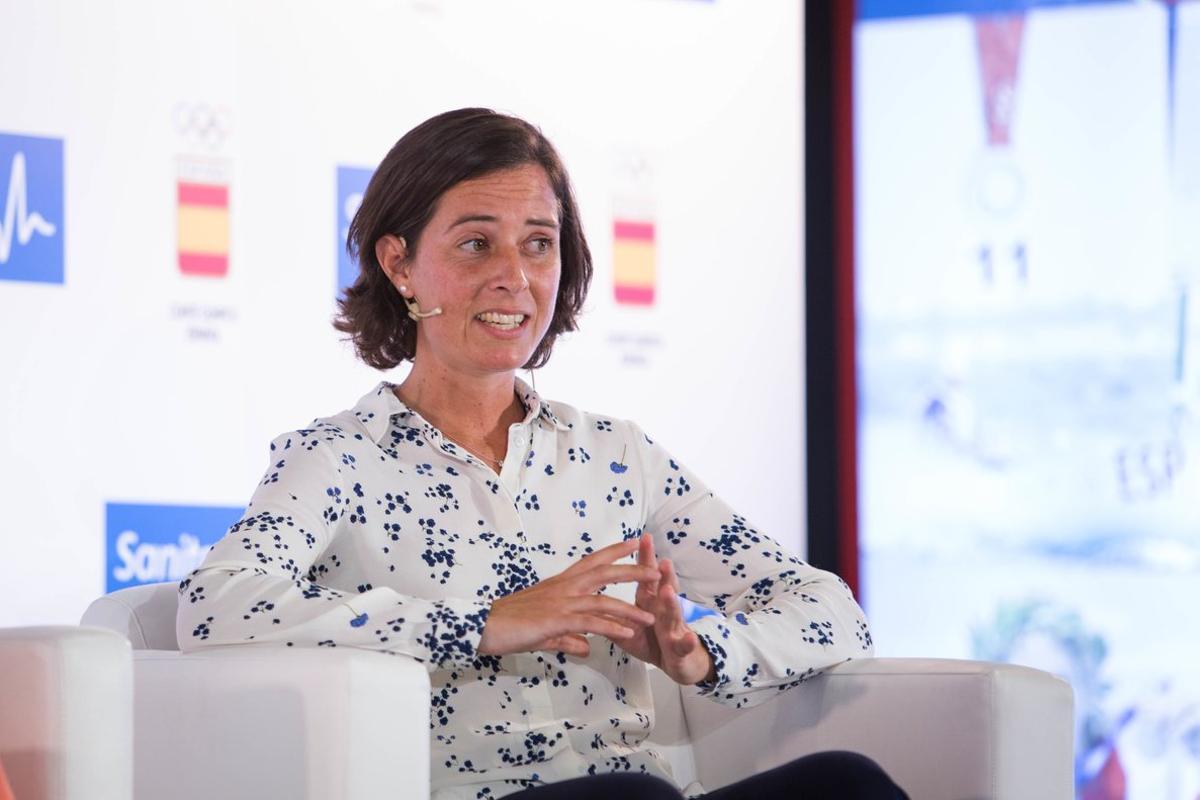 Bárbara Malda, ex jugadora olímpica de hockey hierba y empleada de Sanitas