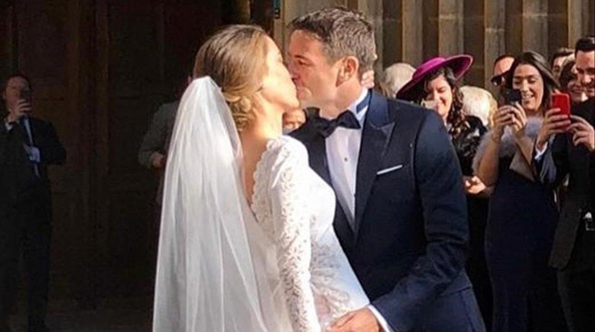 Tommy Robredo se ha casado con su novia Patricia Berga.