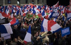 Acto electoral de Fillon, celebrado el pasado viernes