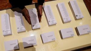 Les paperetes de les eleccions catalanes es podran imprimir a casa
