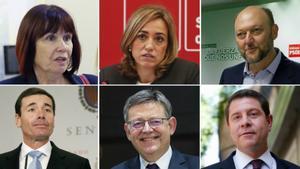 Aquests són els 17 crítics amb Sánchez que han dimitit de l'executiva del PSOE