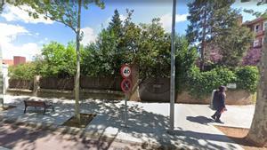 La avenida de Gràcia de Sant Cugat, lugar donde el pasado 26 de junio se perpetró presuntamente una agresión homófoba.