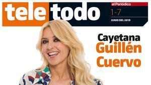 Cayetana Guillén Cuervo, en la portada de 'Teletodo'.