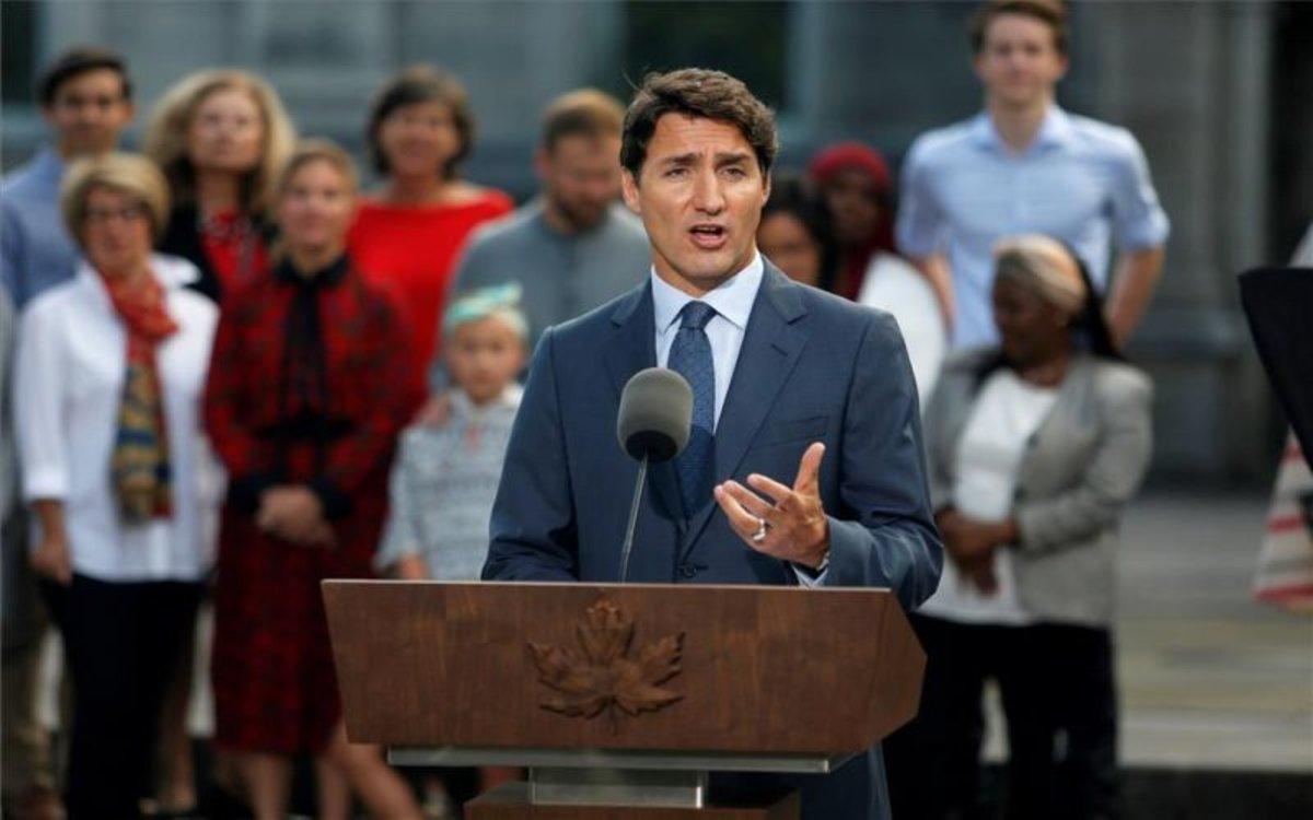 Justin Trudeau, el primer ministro de Canadá.