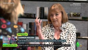 """Carmen Maura, en 'Liarla Pardo': """"Con el feminismo llevado al extremo no estoy de acuerdo"""""""