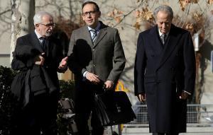 Juan Miguel Villar Mir llega a a la Audiencia Nacional.