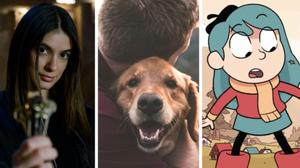 Imágenes de las series de Netflix 'Locke & Key', 'Amigos caninos' y 'Hilda'.