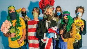 The Flaming Lips, en una imagen promocional de 'American head'