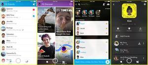 Snapchat vira a competir amb WhatsApp