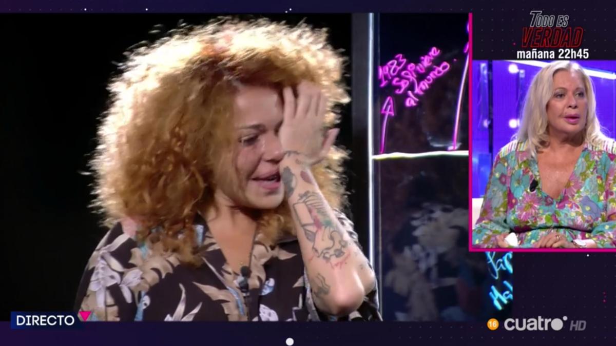 Sofía Cristo en 'Secret Story: Cuenta atrás'.