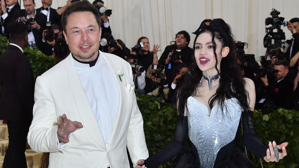 Elon Musk y Grimes se separan después de tres años juntos