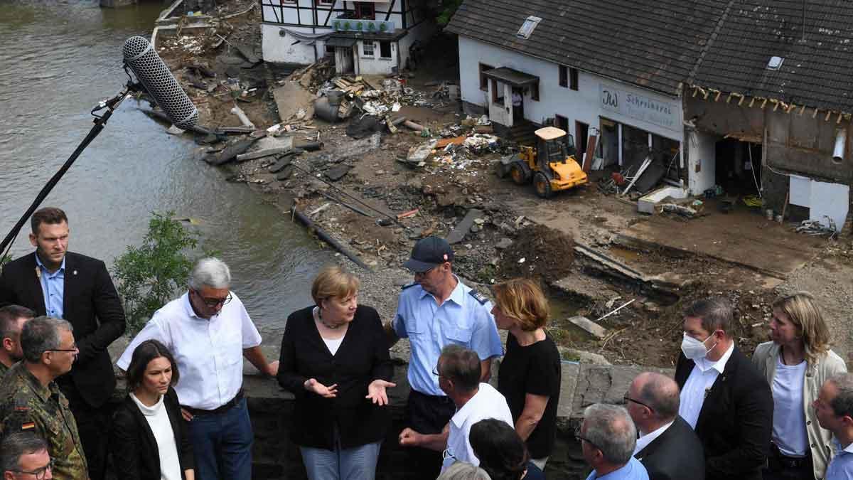 Merkel demana accelerar la lluita contra el canvi climàtic