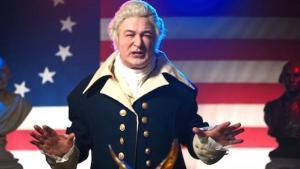 Alec Baldwin, un George Washington muy 'trumpiano'