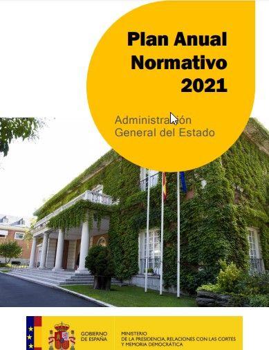 Plan Anual Normativo (PAN) del Gobierno de Pedro Sánchez para 2021