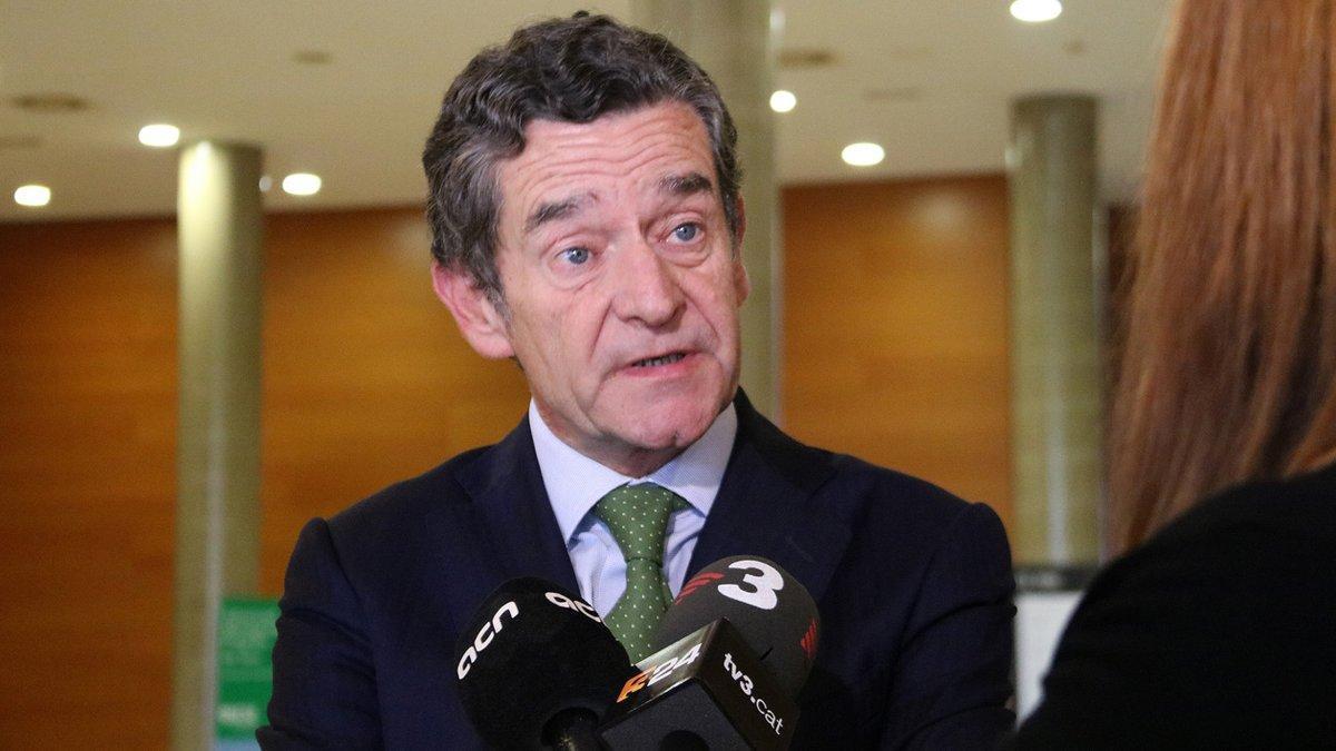 Mario Armero, vicepresidente de Anfac, en el foro de Iese.