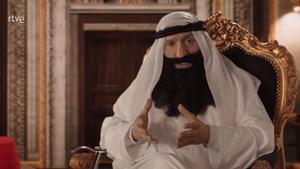 El 'emir Juan Carlos' según Mota (TVE).