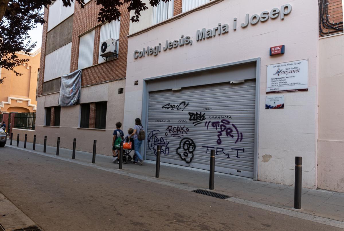 Colegio Pare Manyanet en Sant Andreu