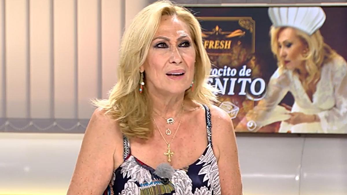 """Rosa Benito carga contra 'Sálvame': """"Antes te reías, ahora hay mucha pelea y a la gente no le gusta"""""""