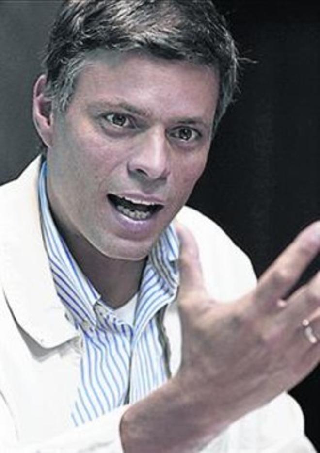 Leopoldo López.