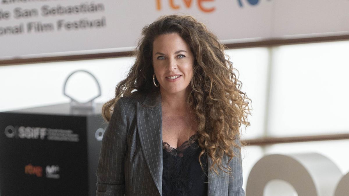 Claudia Llosa, en el festival de San Sebastián tras presentar 'Distancia de rescate'