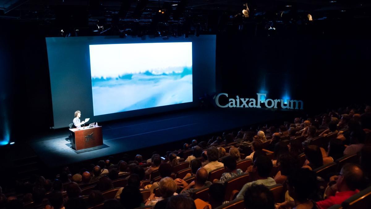 Aspecto del Auditori de CaixaForum, donde tendrán lugar las proyecciones.