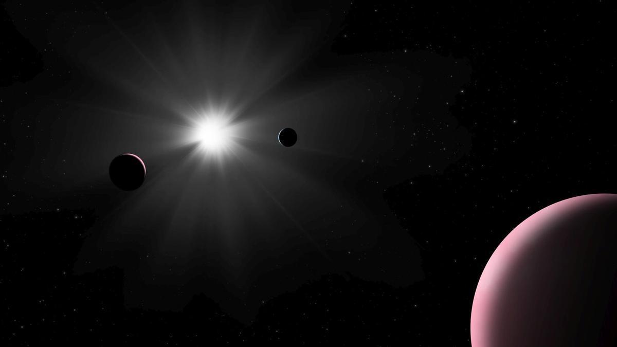 Detectado un exoplaneta de forma inesperada